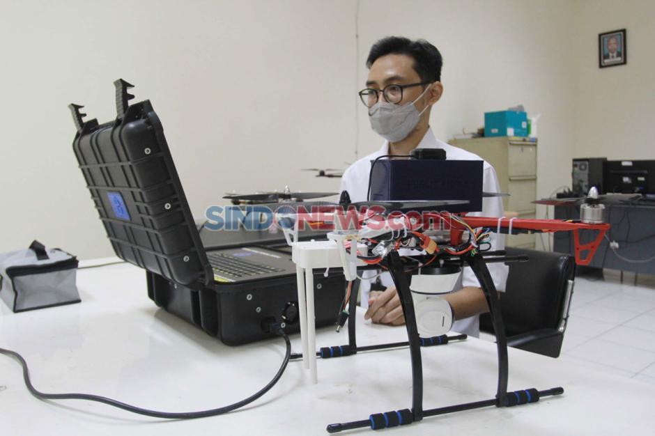 LIPI Kembangkan Pesawat Nirawak Pendeteksi Jaga Jarak-1