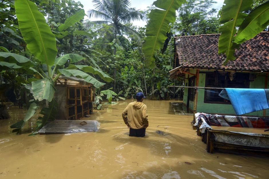Ratusan Rumah di Ciamis Terendam Banjir-0