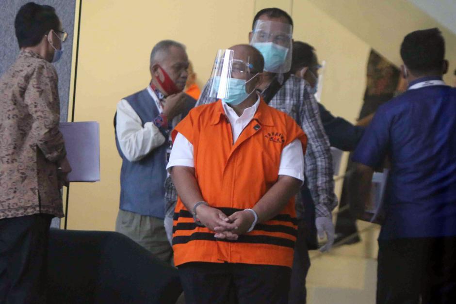 KPK Lanjutkan Pemeriksaan Bupati Kutai Timur Nonaktif Ismunandar-1