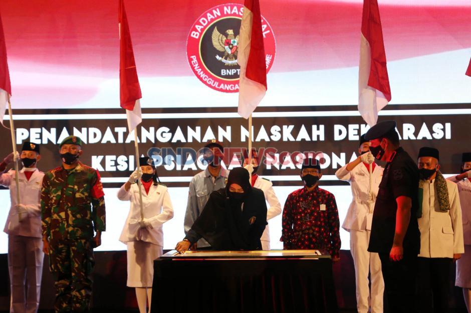 Deklarasi Kesiapsiagaan Nasional Dalam Rangka Penanggulangan Terorisme-0