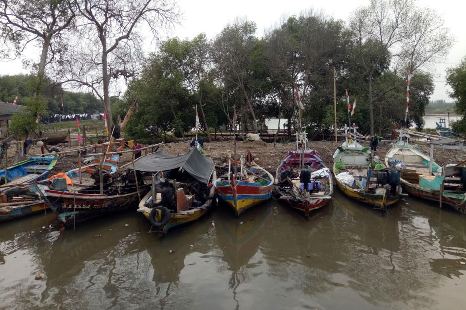 Terapkan Protokol Kesehatan, Pelabuhan Penyeberangan Cituis Tangerang Ramai Aktivitas-4