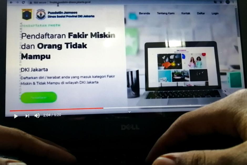 Pemprov DKI Jakarta Buka Pendaftaran Fakir Miskin dan Orang Tidak Mampu Secara Online-1