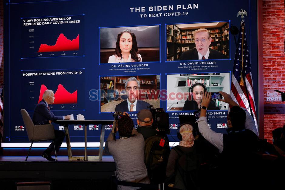 Terapkan Protokol Kesehatan, Joe Biden Gelar Kampanye Virtual-3