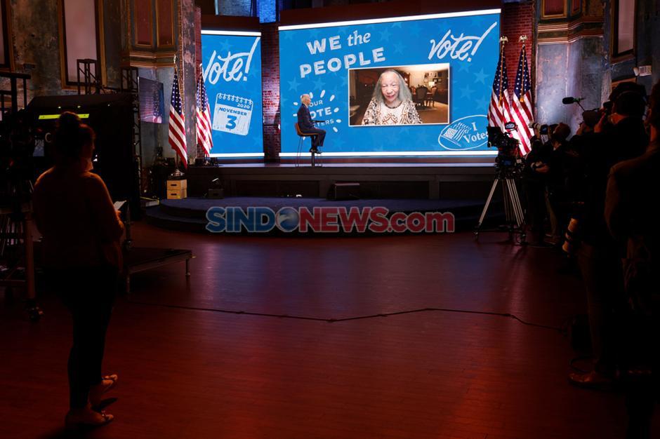 Terapkan Protokol Kesehatan, Joe Biden Gelar Kampanye Virtual-4