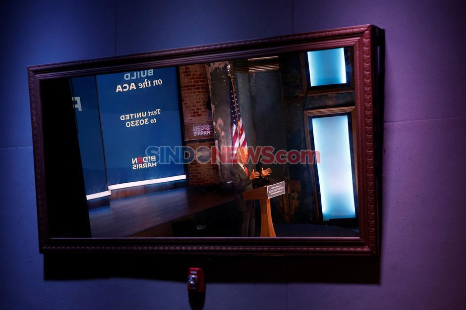 Terapkan Protokol Kesehatan, Joe Biden Gelar Kampanye Virtual-2