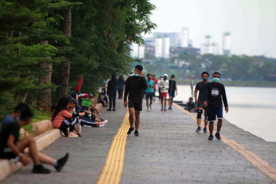 Tingkatkan Imun Tubuh, Warga Jakarta Rutin Berolahraga di Ruang Terbuka-5