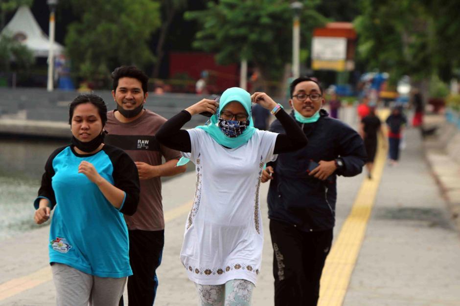 Tingkatkan Imun Tubuh, Warga Jakarta Rutin Berolahraga di Ruang Terbuka-3