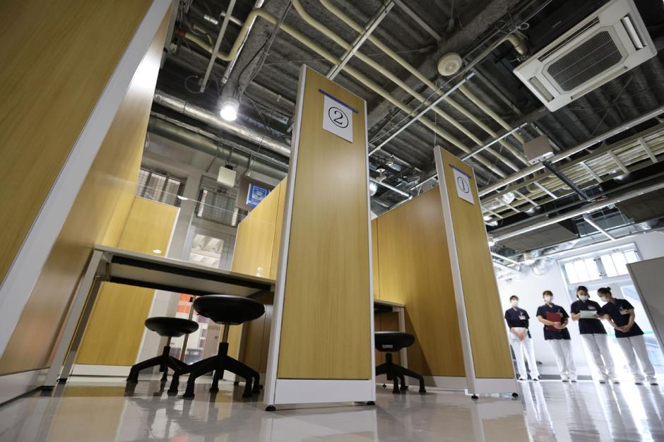 Pusat PCR Bandara Internasional Narita Jepang Dibuka untuk Media-2