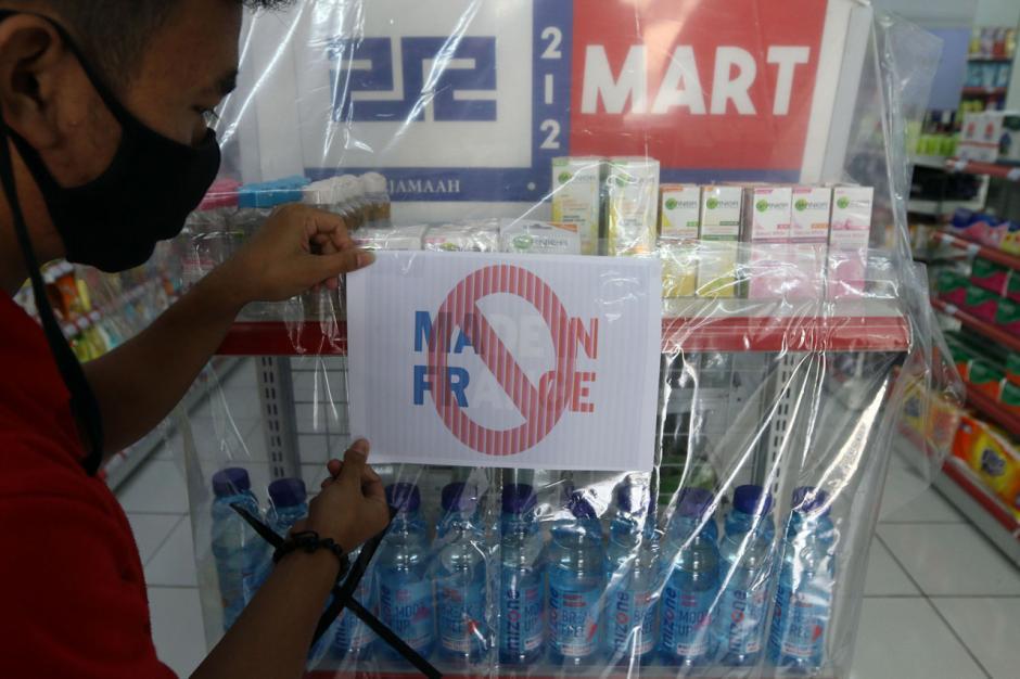 Minimarket di Tangerang Boikot Produk Prancis-2