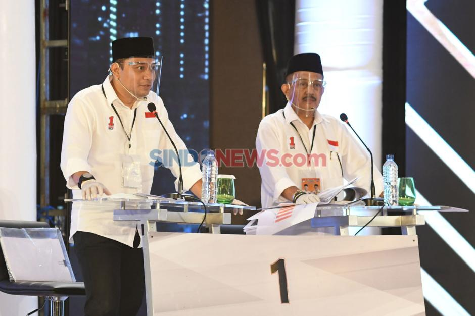 Debat Perdana Pilwali Kota Surabaya-0