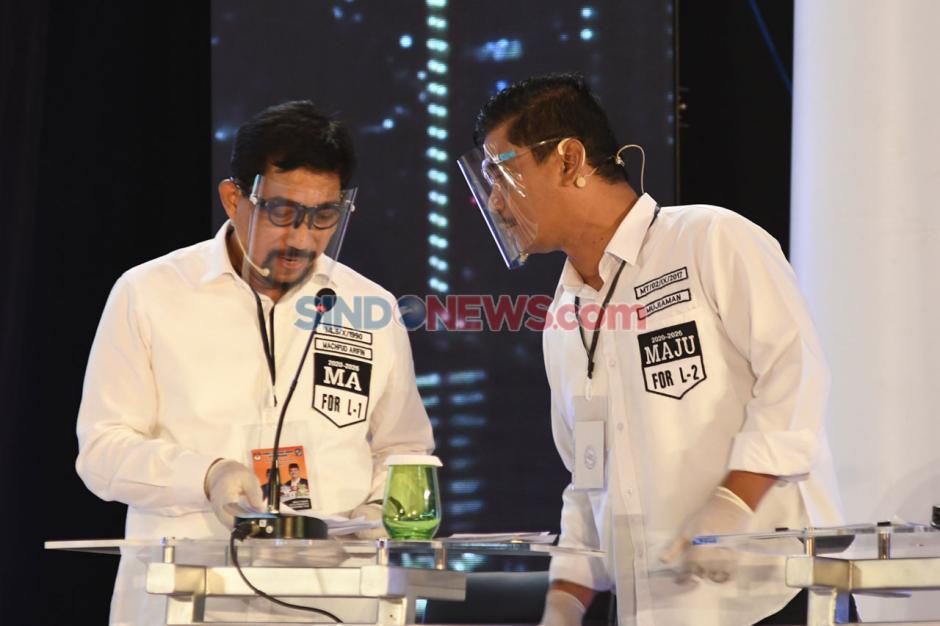Debat Perdana Pilwali Kota Surabaya-2