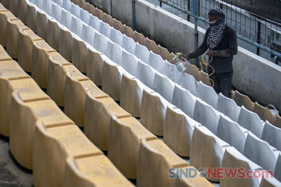 Progres Renovasi Stadion Madya Bumi Sriwijaya-2