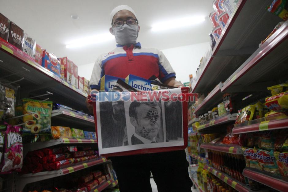 Aksi Boikot Produk Prancis Tetap Berlanjut-0