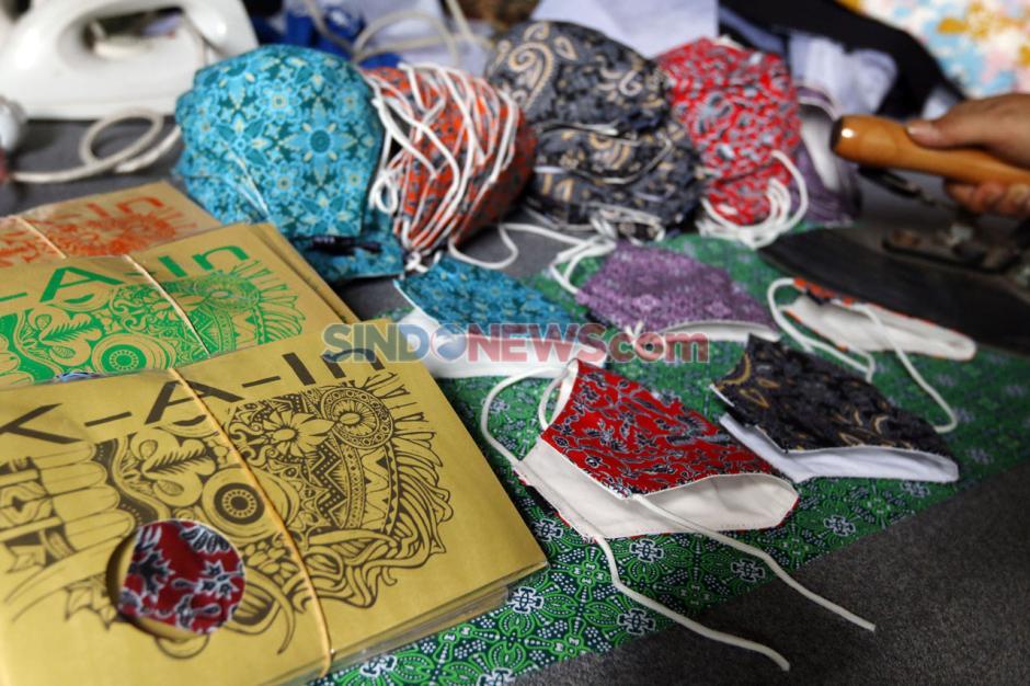 Masker Motif Batik Makin Diminati-3