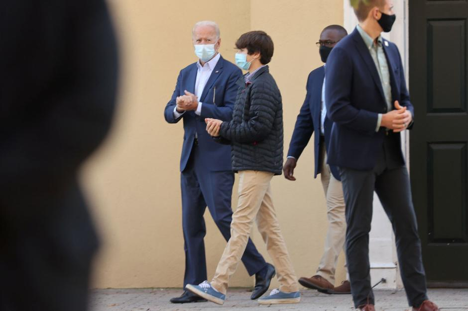 Presiden Terpilih Joe Biden Ikuti Kebaktian di Gereja Wilmington-2