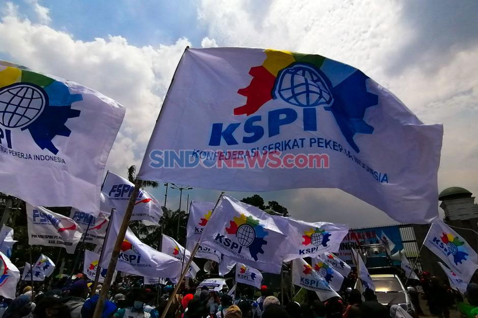 Kepung DPR, Buruh Kembali Gelar Aksi Tolak UU Cipta Kerja-2