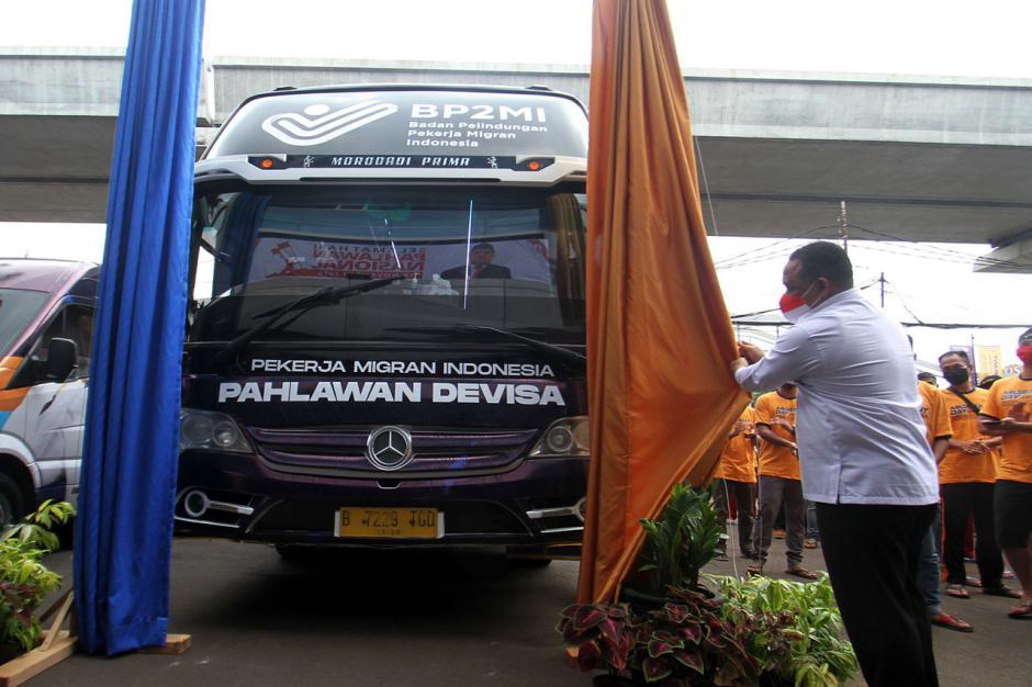 BP2MI Gandeng Damri Beri Fasilitas Transportasi Pekerja Migran Indonesia-1