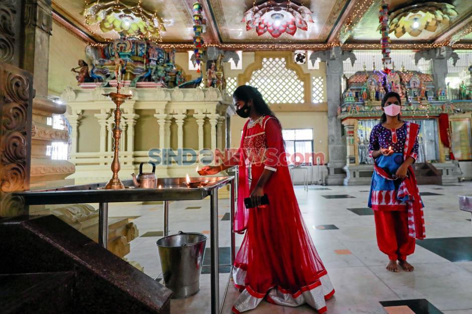 Di Tengah Pandemi Covid-19, Festival Diwali di Srilanka Tetap Digelar-3