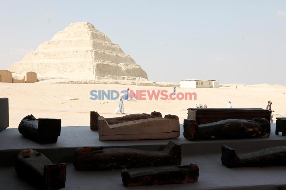 Penemuan Ratusan Peti Mati Berisi Mumi yang Terkubur 2.500 Tahun-4