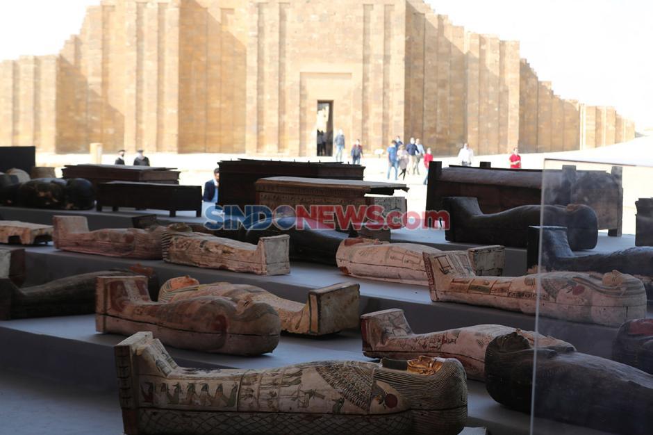 Penemuan Ratusan Peti Mati Berisi Mumi yang Terkubur 2.500 Tahun-1