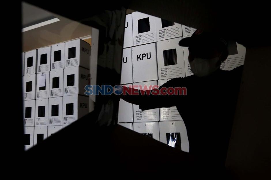 Melihat Persiapan Logistik Pilkada Kota Tangerang Selatan-6