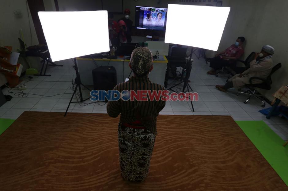 Terapkan Prokes, Sekolah Kreatif SD Muhammadiyah 16 Surabaya Rayakan Milad Muhammadiyah Secara Virtual-3