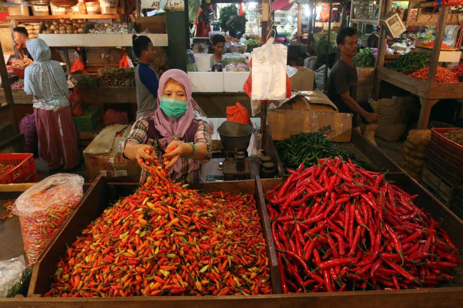 Terdampak Pandemi Covid-19, Omzet Pedagang Pasar Tradisional Turun Hingga 70 Persen-0