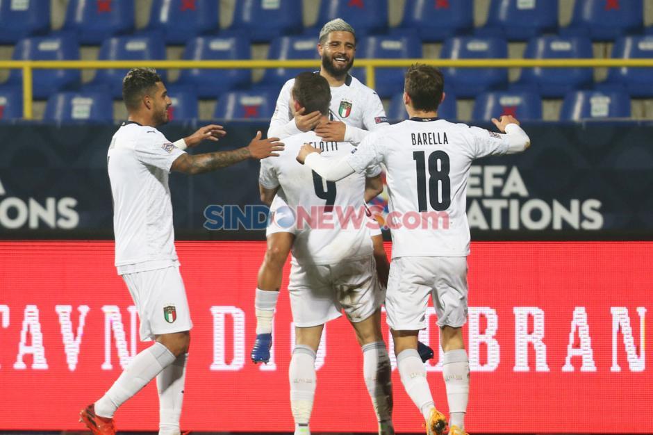 Menang 2-0 atas Bosnia, Italia Tembus Semifinal UEFA Nations League-1