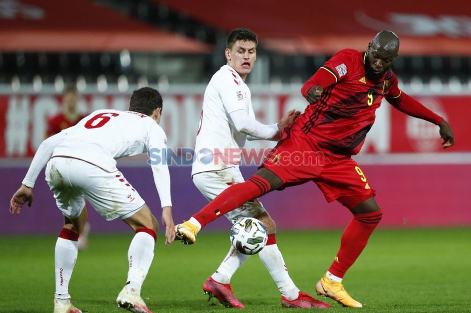 Raih Kemenangan 4-2 atas Denmark, Lukaku dkk Melaju ke Semifinal UEFA Nations League-0