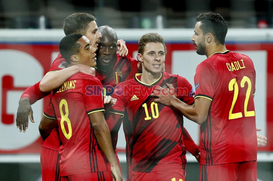 Raih Kemenangan 4-2 atas Denmark, Lukaku dkk Melaju ke Semifinal UEFA Nations League-3