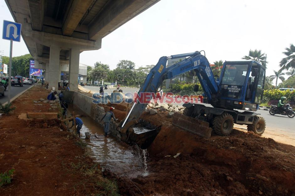 Kawasan Rawan Banjir, Jalan Boulevard Raya Kelapa Gading Dibangun Kolakan-2