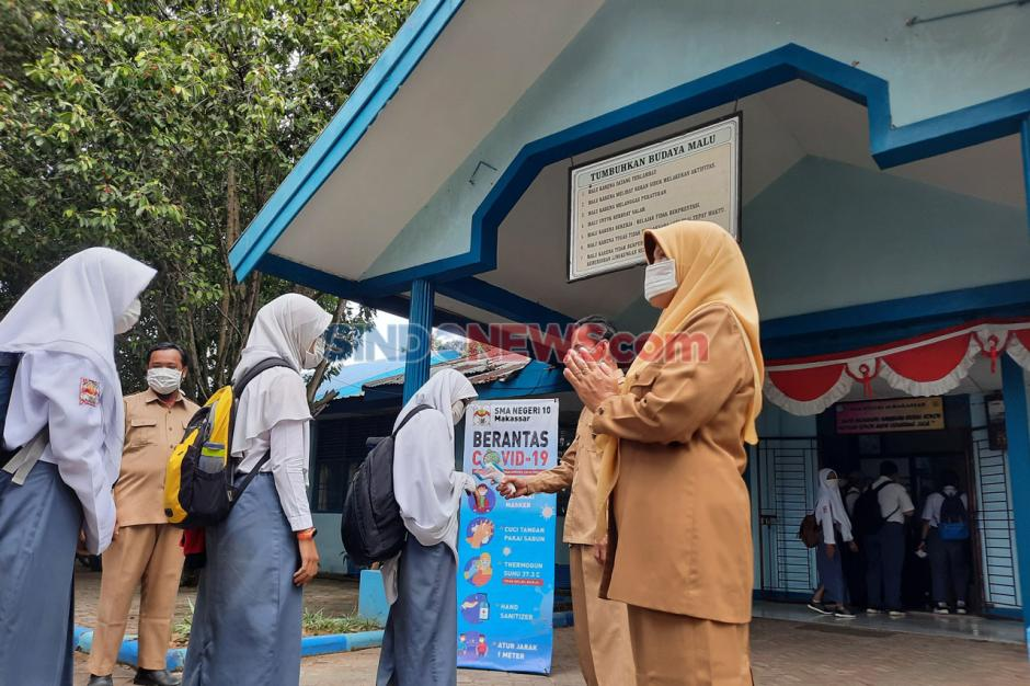 Simulasi Belajar Tatap Muka di Makassar-0