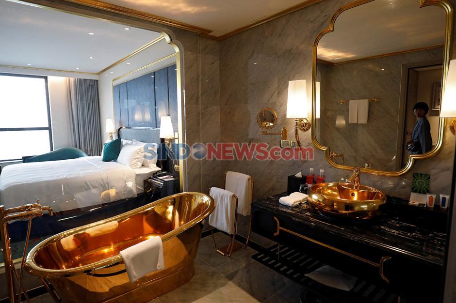 Melihat Hotel Mewah Berlapis Emas Pertama di Dunia-0