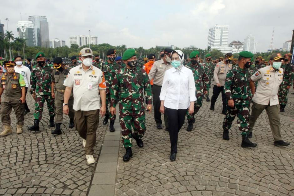 Pangdam Jaya Pimpin Apel Gelar Pasukan Pengamanan Pilkada di Monas-1