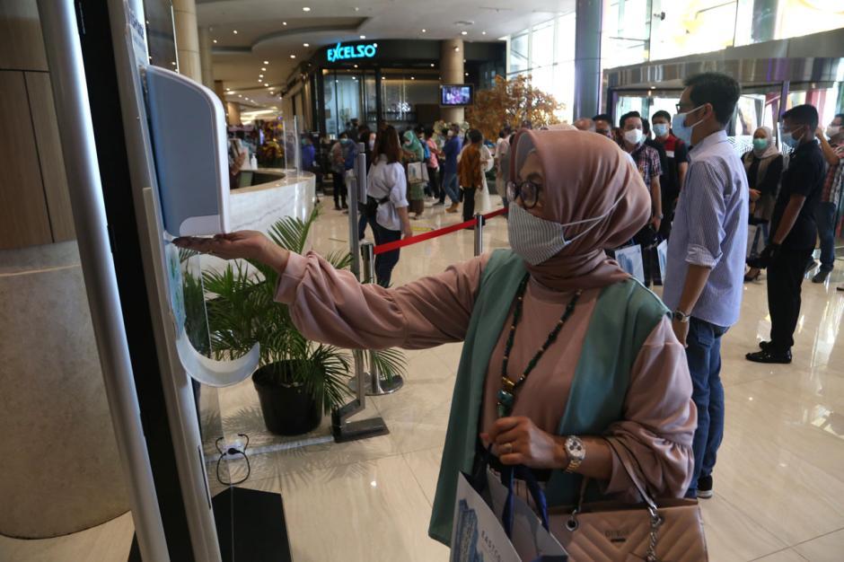 Resmi Dibuka, Pakuwon City Mall Terapkan Protokol Kesehatan Ketat Bagi Pengunjung-3