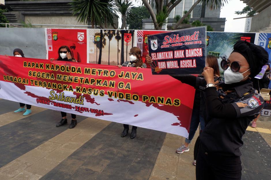 Srikandi Pekat Indonesia Bersatu Desak Polisi Usut Video Syur Artis GA-2