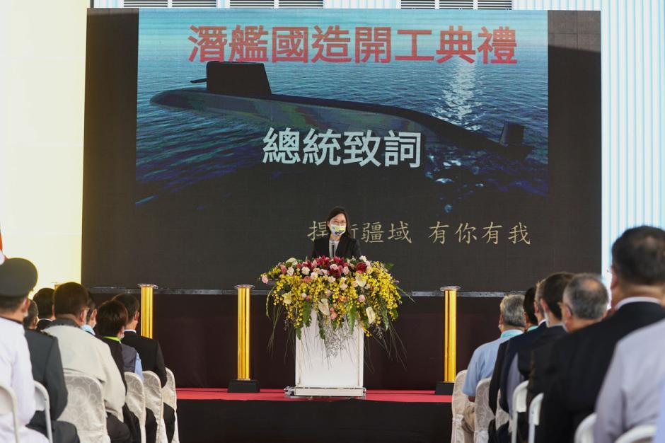 Hadapi Militer China, Taiwan Mulai Pembangunan Kapal Selam Baru-1