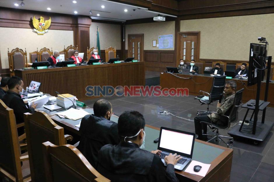 Sekretaris NCB Interpol Indonesia Bersaksi di Sidang Kasus Suap Red Notice Djoko Tjandra-2