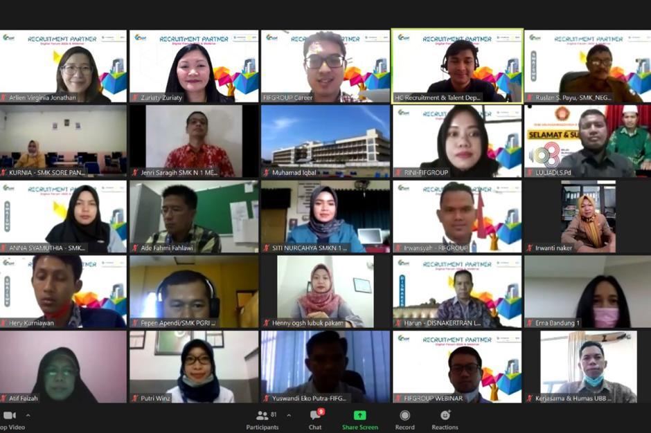 Ciptakan Calon Karyawan Unggul dan Berkualitas, FIFGROUP Gelar Program Recruitment Partner Digital Forum-1