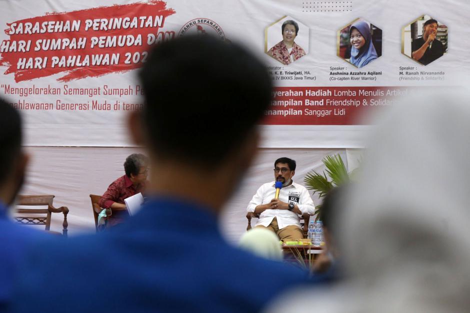 Machfud Arifin Ajak Generasi Millenial Terlibat di Setiap Pembangunan Kota Surabaya-0