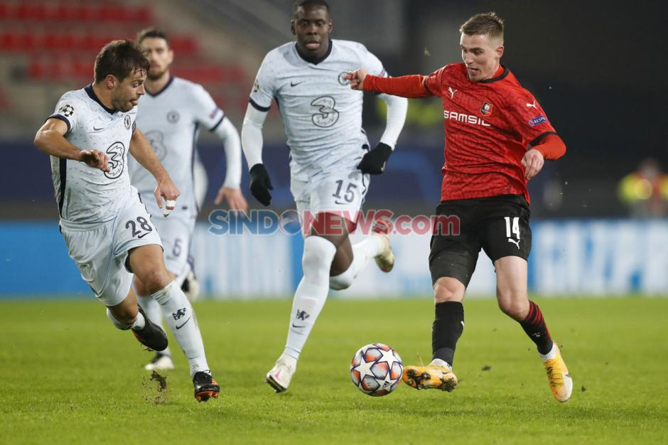 Bekuk Tuan Rumah Rennes 2-1, Chelsea Pastikan Tiket 16 Besar Liga Champions-2