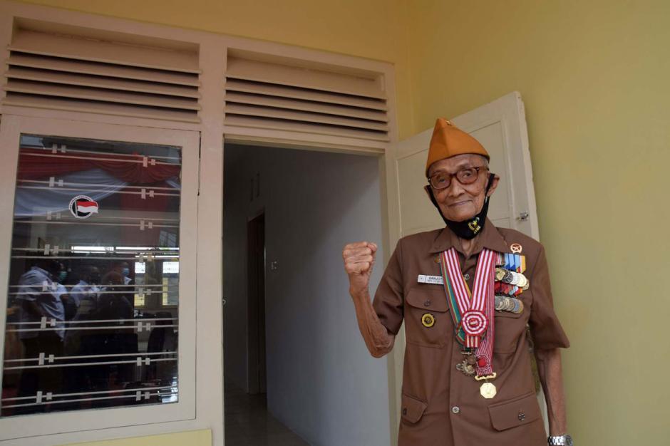 Begini Wujud Bedah Rumah Veteran Pejuang Kemerdekaan RI di Semarang-0