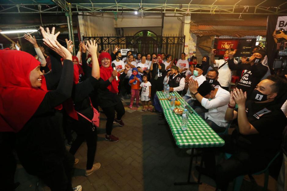 Jelang Pilkada Surabaya, Bala Bhineka Pertebal Suara Eri Cahyadi-3