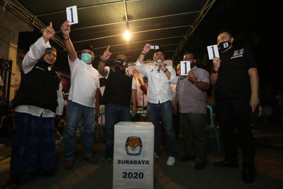 Jelang Pilkada Surabaya, Bala Bhineka Pertebal Suara Eri Cahyadi-2