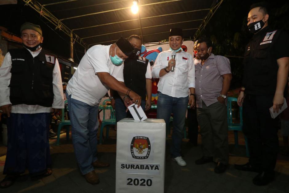 Jelang Pilkada Surabaya, Bala Bhineka Pertebal Suara Eri Cahyadi-1