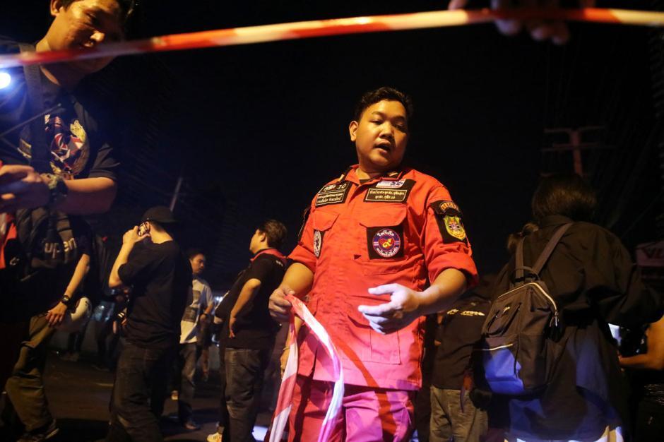 Unjuk Rasa Pro-demokrasi di Bangkok Ricuh-2