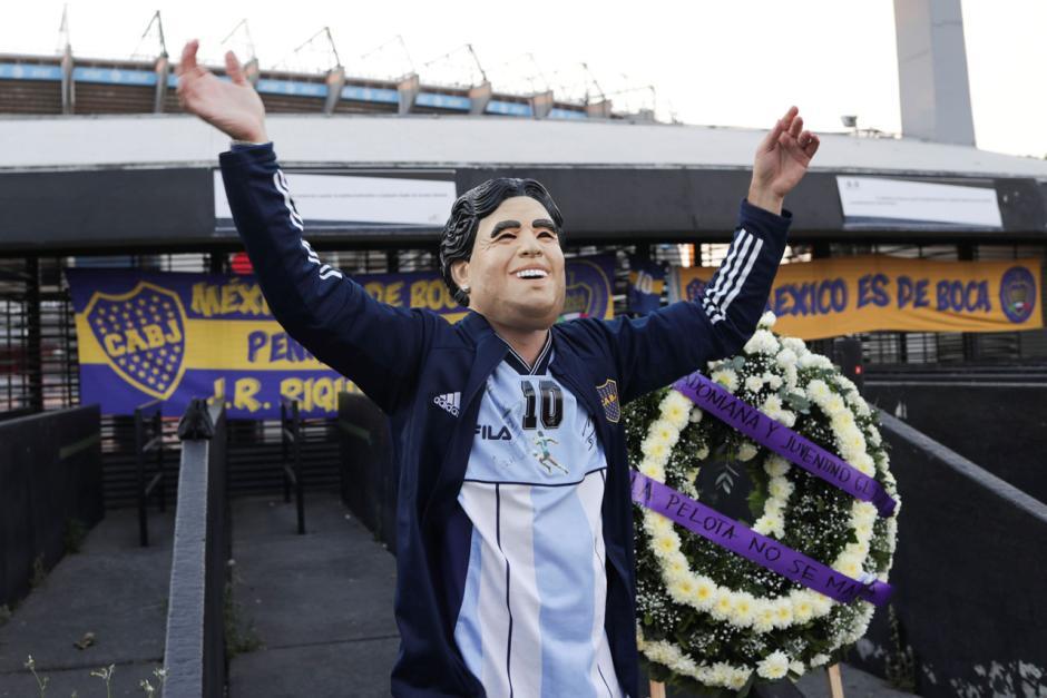 Diego Maradona Meninggal, Inilah Potret Kedukaan Rakyat Agentina-1