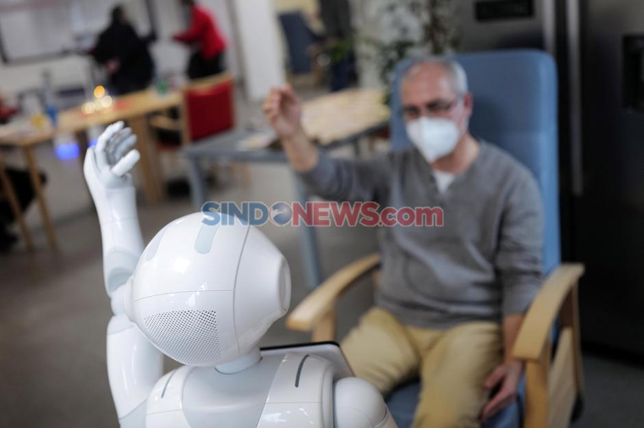 Robot Bantu Rehabilitasi Pasien saat Pandemi di Jerman-4