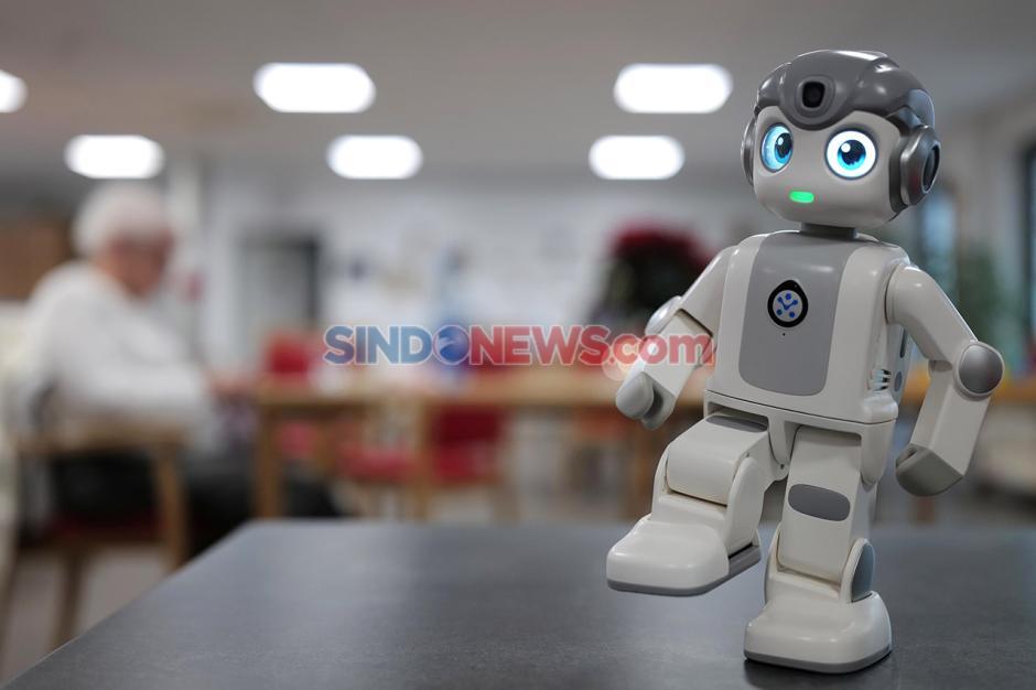 Robot Bantu Rehabilitasi Pasien saat Pandemi di Jerman-2