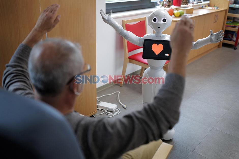 Robot Bantu Rehabilitasi Pasien saat Pandemi di Jerman-0